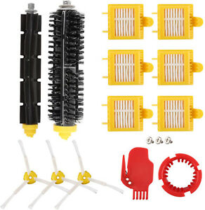 Side Brush Filter Kit For iRobot Roomba 700 Series 770 780 790 760 761 772