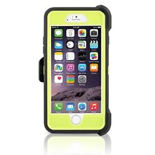 Otterbox Defender Series case Belt clip for Apple iPhone 6 iPhone 6s Black Green