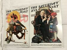 Norman Rockwell Saturday Evening Post Tin Signs