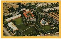 Postcard AZ Phoenix Royal Palms Inn Aerial View Vintage