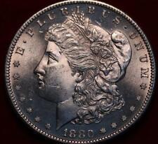 Uncirculated 1880-S San Francisco Mint Silver Morgan Dollar