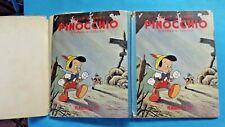 Pinocchio d'après C.Collodi 1950 illustration de Walt Disney