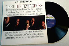 VINYL LP - MEET THE TEMTATIONS  - FUNK SOUL REISSUE 1981 MV 140V1