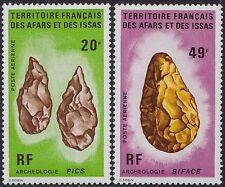 1974 AFARS & ISSAS PA N°83/84** Archéologie TB, archaeology, archeology MNH