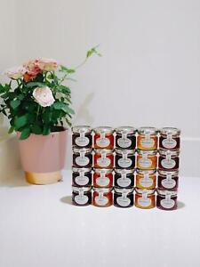 20 x 28g Wilkin & Sons Tiptree Mini Mixed Jams & Marmalade- 5 Flavours!
