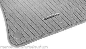 Mercedes Benz Original Rips Floor Mats CLS C / X218 4Matic Rhd Grey New Boxed