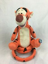 Winnie The Pooh : Bouncing & Singing Tigger With Tail - Disney - 35cm (Working)