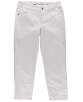 INC International Concepts NEW Curvy Fit Crop Skinny Leg Jeans in White