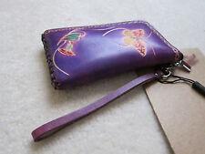 Handmade Purple Wallet Bulgarian Butterfly