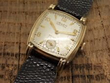 Vintage Antique Gruen Veri- Thin 10k Gold Filled Watch 17 Jewels Swiss Made