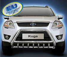 Ford Kuga 2008-2012  CE APPROVED BULL BAR  PUSH BAR GRILL GUARD WITH AXLE GRILL