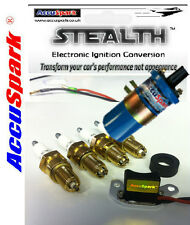 Ford Pinto Stealth Electronic ignition kit + Plugs+Blue  Sports coil  for Bosch