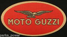 Moto Guzzi iron on patch, Woven, Motorcycle Badge, Bikers, Italian