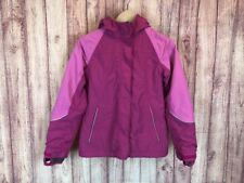 Lands End Kids THE SQUALL Girls Size 10/12 Pink Winter Jacket Coat Parka ai5