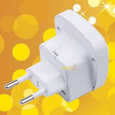 Universal to Brazil EU EUROPE Russia Power Plug Adapter Converter Safety Shutter