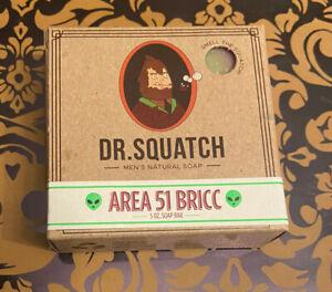 Dr. Squatch Area 51 Bricc 5 oz. Soap Bar Limited Edition