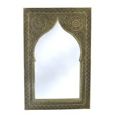 Orientalischer Marokkanischer Spiegel Orient Marokko Wandspiegel S06 H41 cm