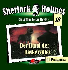 Sherlock Holmes 18 Der Hund der Baskervilles 4 LP Maritim Verlag Vinyl NEU