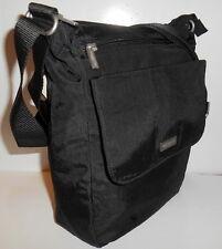 BAGGALLINI TOWN BAGG Black Crossbody *NEW* Shoulder Bag Front Pockets Vegan NWT