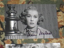 Actress VERA MILES Signed 4x6 PSYCHO Photo AUTOGRAPH 1F