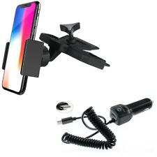 Holder CD Slot Car Mount w Type-C 3.1A Charger for USB-C Phones