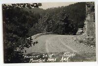 RPPC Mountain Drive Ozarks MOUNTAIN HOME AR Vintage Real Photo Postcard