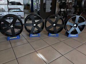 "22"" Satin Black Range Rover / Range Rover Sport Wheels"