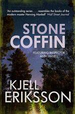 Stone Coffin (Inspector Ann Lindell), Kjell Eriksson, New condition, Book