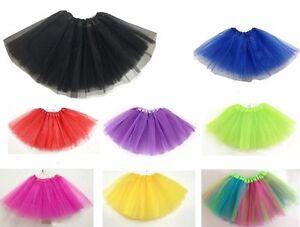 Adult/kid Fancy Dancewear Tutu Pettiskirt Princess Party Skirts Mini Dress UK