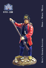 LA FORTEZZA SCALE MODEL STO-0188 - KING'S GEORGE INFANTRY - 54mm METAL