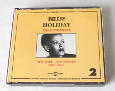 Billie HOLIDAY New York - L.A.1934-1946  FRENCH 2CD box FREMEAUX & ASSOCIES(1997