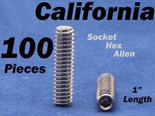 "100 x Pieces 1/4""-20 Camera Tripod Hex Screw Bolt Bracket DSLR Rig Rigs Mount 1"""
