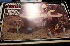 Vintage Star Wars Ewok Village RTOJ Kenner 1983