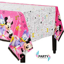 Minnie Mouse Party Supplies TABLE COVER 54 X 96 Inch