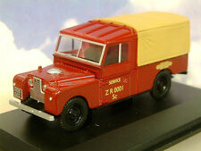 "OXFORD 1/43 LAND ROVER S.1 109"" CANVAS BACK BR BRITISH RAILWAYS RAIL LAN1109009"
