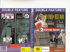No Man Of Her Own-1932-Clark Gable/Of Human Bondage-1934-2 Movie-DVD