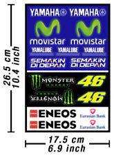 Yamaha Movistar MotoGP Decals Stickers Graphics Autocollant Aufkleber Adesivi