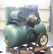 Speedaire 3Z419F 2hp 1-Phase 230V Portable 20-Gal Barrel Air Compressor Tank