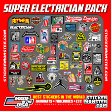 NEW ELECTRICIAN (55+) STICKER PACK