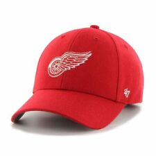 Detroit Red Wings '47 NHL MVP Structured Adjustable Red Hat Cap Hockey OSFM