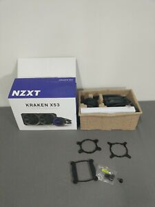 NZXT Kraken X53 240mm, Used, Missing Some Mounting Hardware, Untested