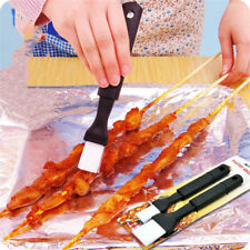 2pcs Pastry Cake Oil Brush Barbecue Grill Brush Basting Brushes   Tool FO