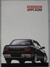 1992 Daihatsu Applause Fold Out Brochure