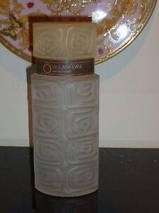 "VINTAGE FRENCH O DE LANCOME PERFUME EAU FRAICHE 85° EMPTY GLASS BOTTLE 8 3/4"""