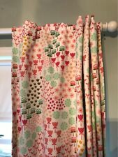 Twill Blackout Floral Print Curtain 1 Panel Apricot Ice by Pillowfort