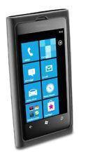 Zelluläre Line Silikon Schutzhülle Für Nokia Lumia 800 Schwarz