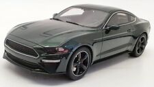 GT Spirit 1/18 Scale Resin US017 - 2019 Ford USA Mustang Bullit Coupe - Green