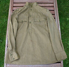 WW2 type Soviet Gymnasterka Tunic Uniforms Shirt Russian Field Size 3 Unissued