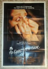 1980 HE KNOWS YOU'RE ALONE 27x41 1-SH Movie Poster FN 6.0 Don Scardino