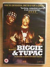 BIGGIE ET TUPAC ~2002 Nick Broomfield documentaire 2Pac Smalls Hip Hop GB DVD